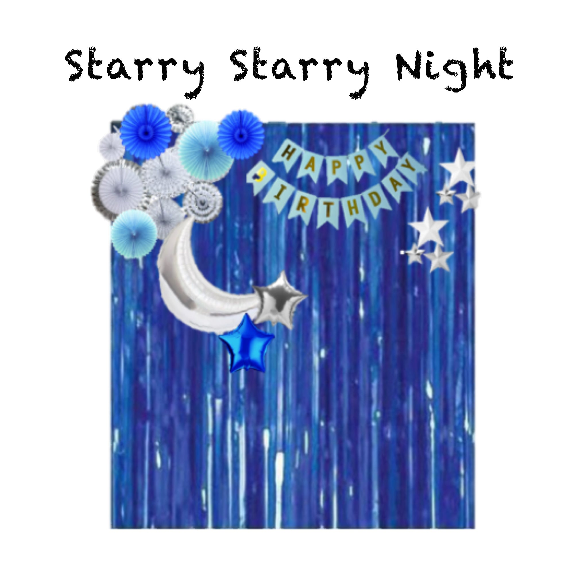 Starry Starry Night (3-5 days leadtime)