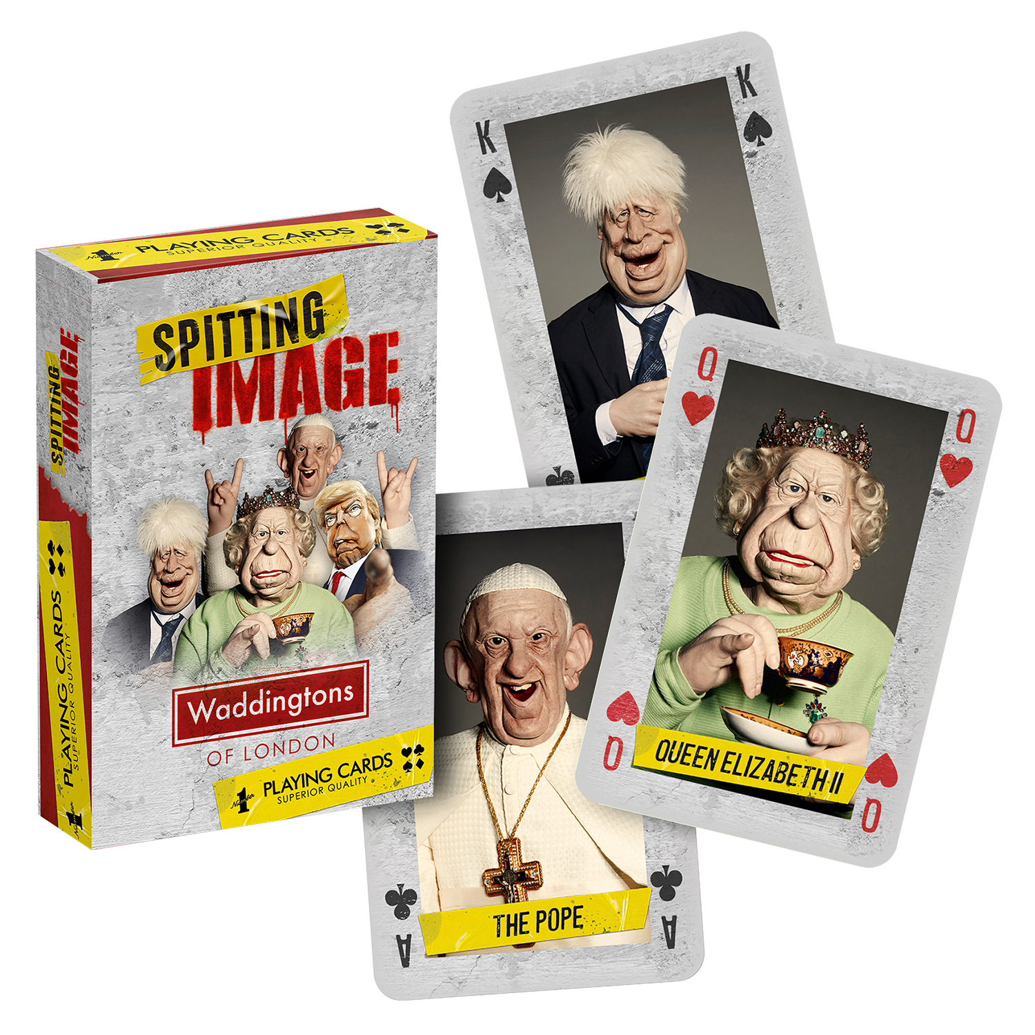 Spitting Image Official Playing Cards