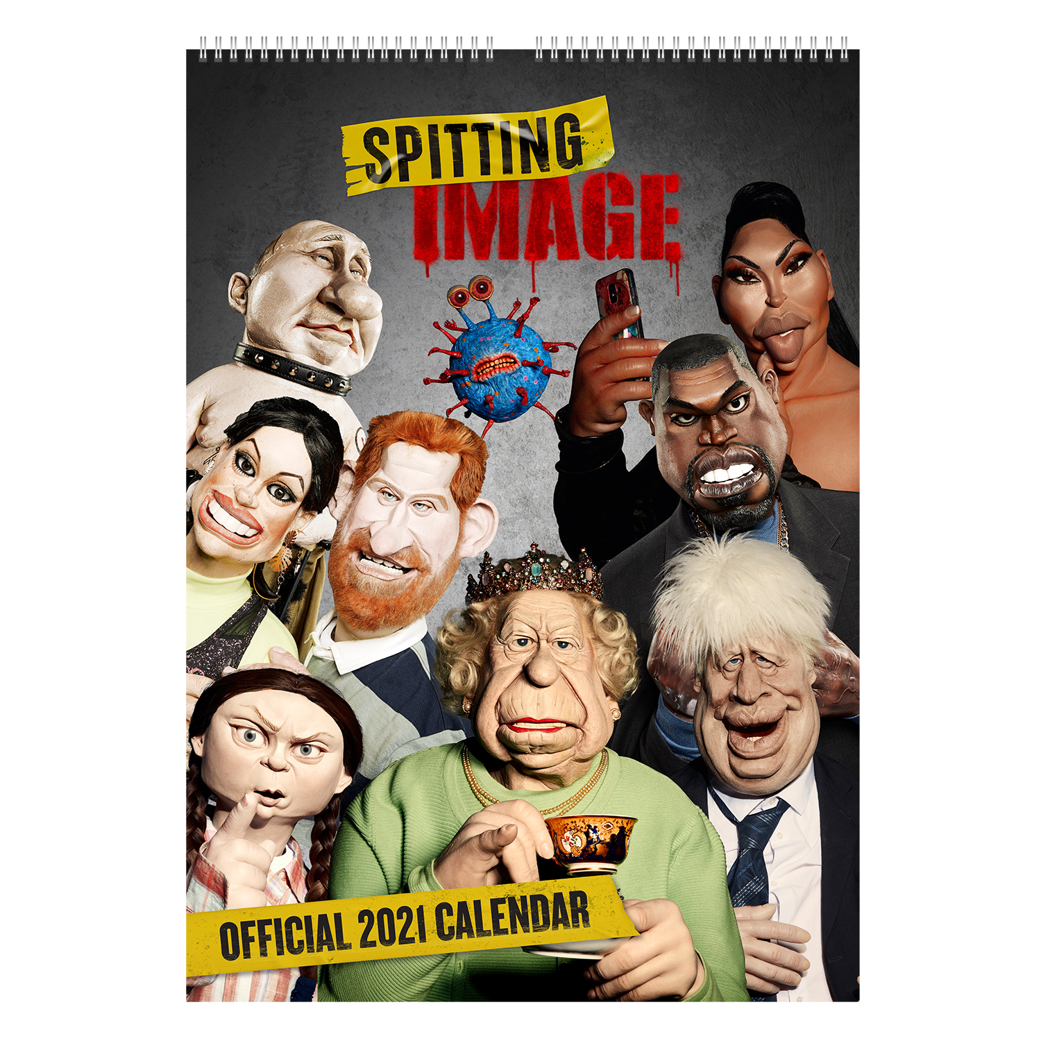 Spitting Image Official 2021 Calendar