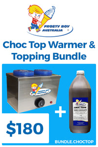 Choc Top Warmer and Topping Bundle