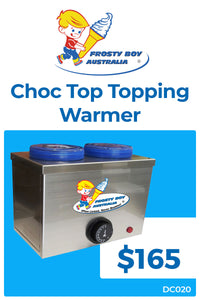 Choc Top Topping Warmer