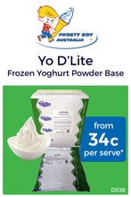 Load image into Gallery viewer, Yo D'Lite Frozen Yoghurt Base