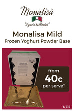 Load image into Gallery viewer, Monalisa Mild Frozen Yoghurt Base