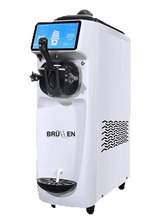 Load image into Gallery viewer, Baby Brullen Soft Serve Machine Package with 4 Cartons of Soft Serve base