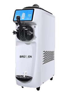 Baby Brullen Soft Serve Machine Package with 4 Cartons of Soft Serve base