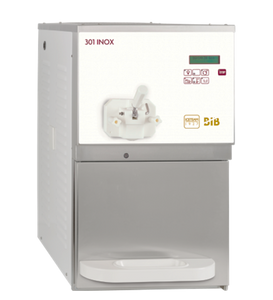 INOX 301 Soft Serve Machine Package with 16 cartons of Soft Serve base