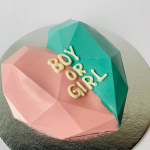 Gender Reveal Smash Cake
