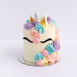 Eunice The Unicorn Cake (Shorty)