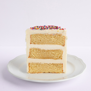 Sprinkle Celebration Vanilla Cake