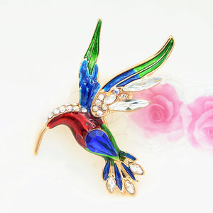 New Fashion Apparel, Wild, Painted Water Bird Brooch, Personalized Apparel Accessories, Collar Pin, Brooch