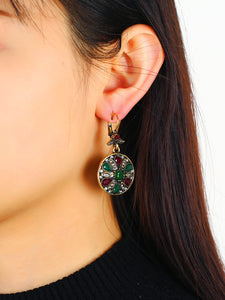 Exotic Bohemian earring set in vintage fashion