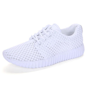 Women's casual sports shoes lightweight non-slip sneakers breathable mesh shoes