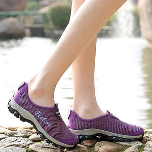 Women's comfortable fashion sneakers 128652