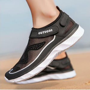 Women's mesh breathable leisure sports beach shoes outdoor river shoes