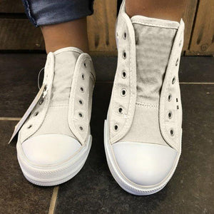 Women's Canvas Comfy Sneaker Shoes
