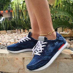 Women's Denim Summer Casual Sneakers