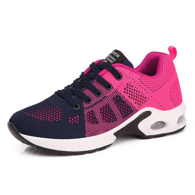Women's  Athletic Flyknit Casual Outdoor With Lace-up shoes