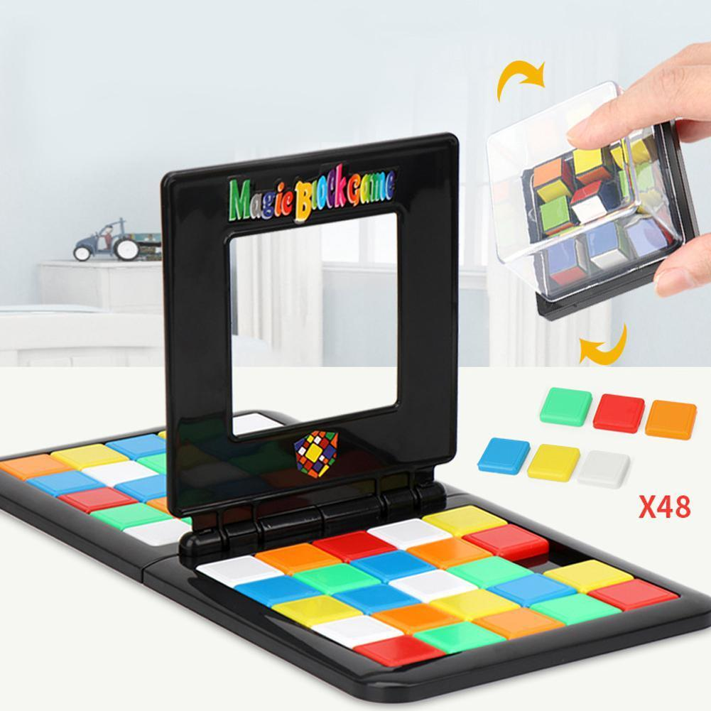 Magic Cube Race Game - Great Fun Brainteaser Game