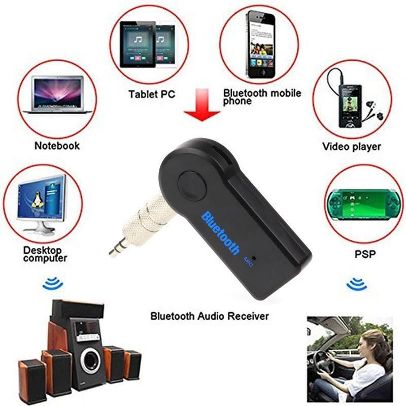 Wireless Bluetooth Receiver (Throw Away Your AUX Cord!)