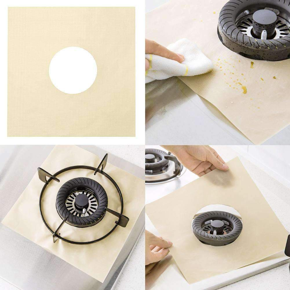 Reusable Stove Protector Covers (4 pcs set)