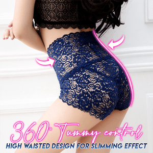 High Waist Seamless Lace Panty