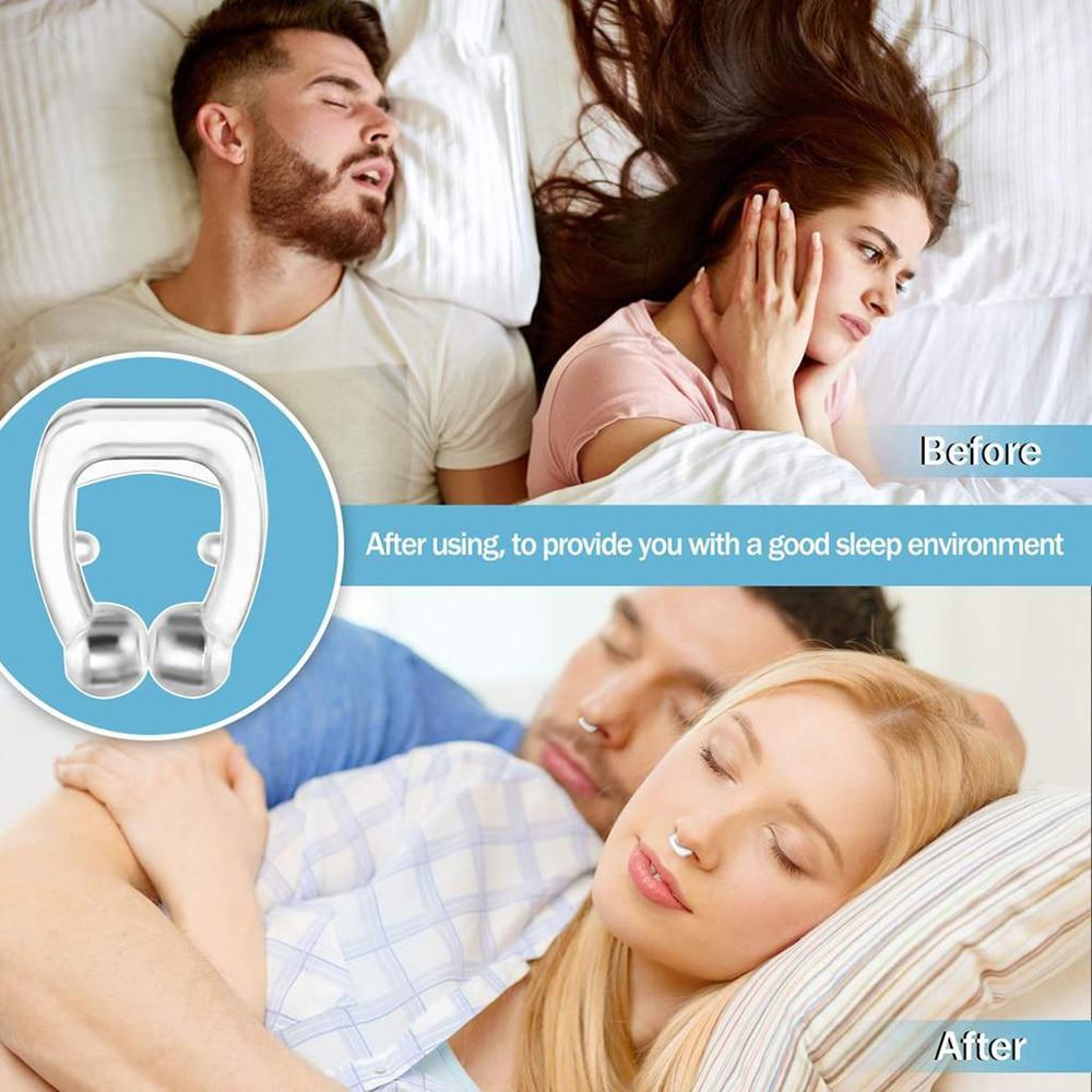 Anti-Snore Magnetic Nose Clip