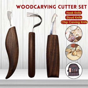 WoodCraft Carving Tool Kit (5 Pcs)