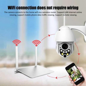 Waterproof Outdoor Wifi Camera
