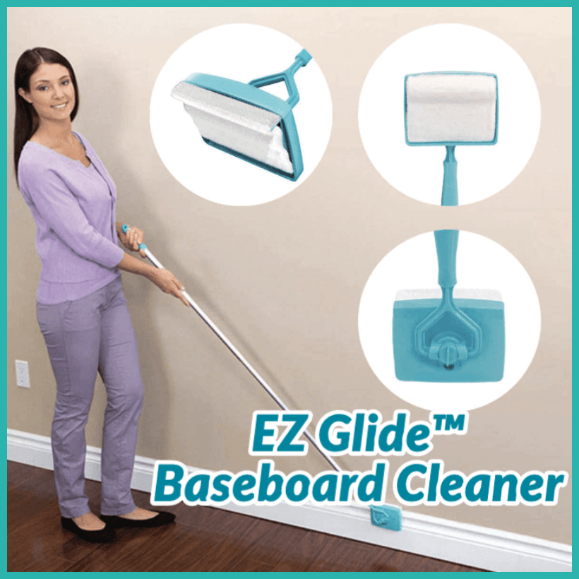 Baseboard Mop For Cleaning Your Baseboards and Moldings