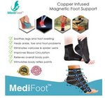 Copper Infused Magnetic Foot Support