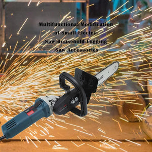 SawPro™ Angle Grinder Chainsaw Attachment