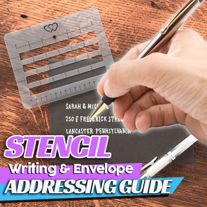 Strencil Writing And Envelope Addressing Guide