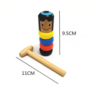 Wooden Stubborn Toy