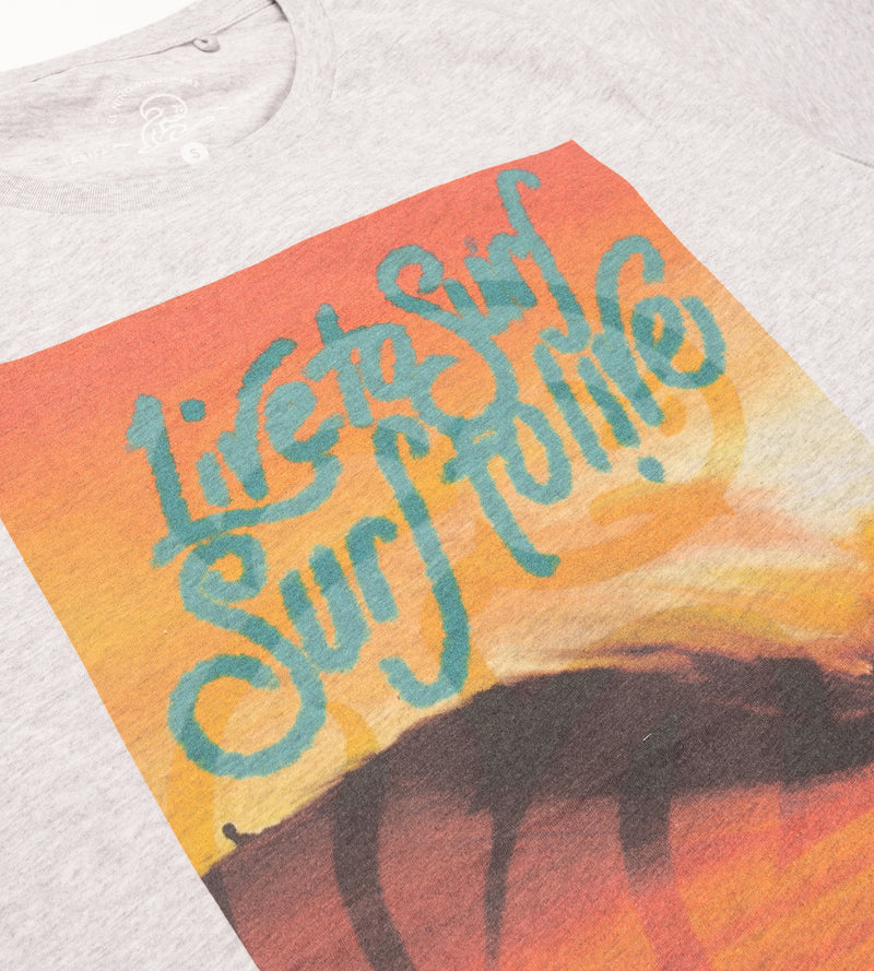 Live to Surf Tee