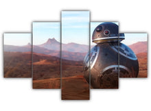 Load image into Gallery viewer, Multi Panel BB 9E Split Grouped Wall Canvas Art