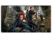 Load image into Gallery viewer, Black Widow And Hawkeye