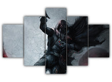 Load image into Gallery viewer, Multi Panel Darth Vader Dying Split Grouped Wall Canvas Art