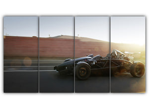 Multi Panel Darth Vader Formula One Split Grouped Wall Canvas Art