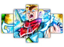 Load image into Gallery viewer, Multi Panel Future Trunks Split Grouped Wall Canvas Art