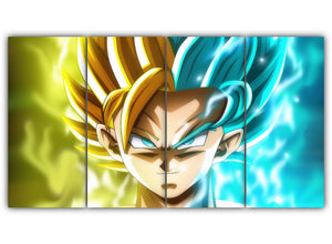 Goku and Caulifla