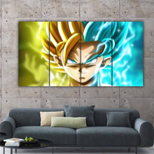 Load image into Gallery viewer, Goku and Caulifla