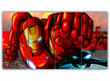 Load image into Gallery viewer, Iron Man and Spider Man
