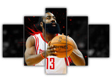 Load image into Gallery viewer, Multi Panel James Edward Harden Jr Split Grouped Wall Canvas Art