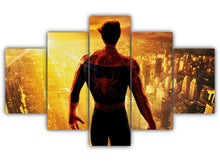 Load image into Gallery viewer, Multi Panel Peter Parker Split Grouped Wall Canvas Art