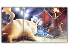 Load image into Gallery viewer, Pikachu Vs Charizard