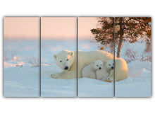 Load image into Gallery viewer, Polar Bear Family