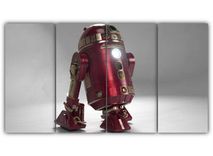 R2D2 with Iron Man Theme