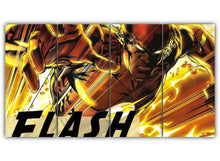 Load image into Gallery viewer, Multi Panel Reverse Flash Split Grouped Wall Canvas Art