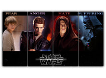 Load image into Gallery viewer, Multi Panel Revolution Of Skywalker Split Grouped Wall Canvas Art