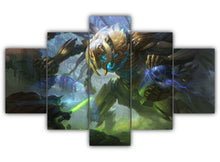 Load image into Gallery viewer, Multi Panel Star Wars General Grievous Split Grouped Wall Canvas Art